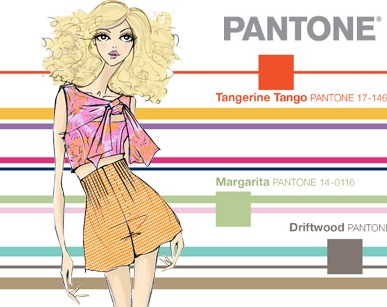 2012 Pantone Spring Color Report