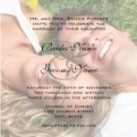 Your Photo Wedding Invitation