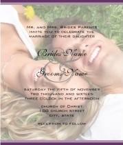 Your Photo Wedding Invitation