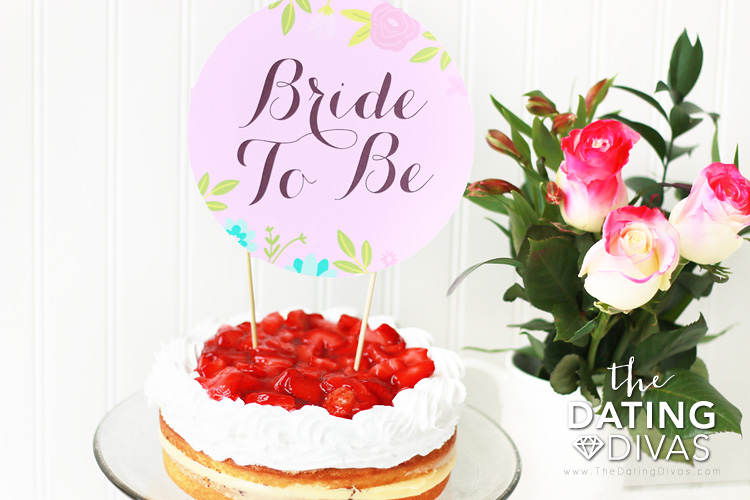 Bridal Shower Printable Package