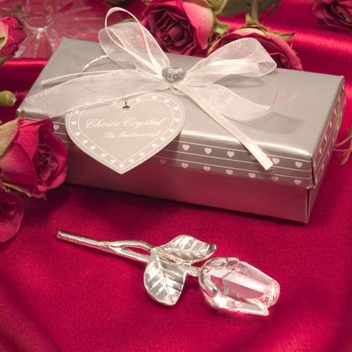 Crystal Rose Party Favors