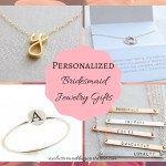 Unique Personalized Bridesmaid Jewelry Gifts