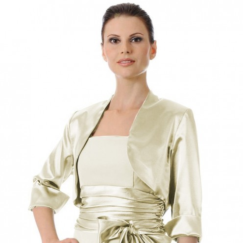Wedding Satin Bolero